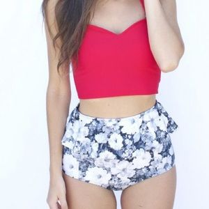 DISO anything S-L in this floral pattern